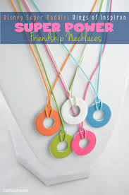 fun crafts for tweens pinterest. super buddies rings of inspiron power friendship necklaces | tween craft ideas for mom and fun crafts tweens pinterest