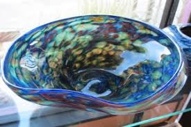 Decorative Blown Glass Bowls Blown Glass Bowls Seattle Art Glass Gallery Glass Blowing 2