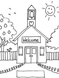welcome to school coloring page free printable back to school coloring pages welcome back school coloring