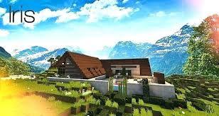 minecraft maison de luxe iris map a minecraft ment faire une maison de luxe facilement