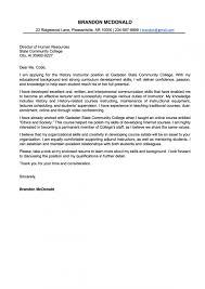 Cover Letter Vs Letter Of Interest