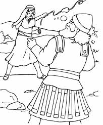 Small Picture Page David And Goliath Coloring Pages Best Of itgodme