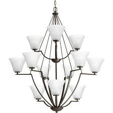 12 bulb chandelier progress lighting invite collection light antique bronze bulbelier parts lamp shades volt archived on lighting