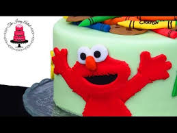 Fondant Elmo Cake How To With The Icing Artist Youtube
