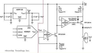 circuit 4 20ma for controlling a pump microchip this example uses an operating voltage of 18v if you want to run at 5v you must change some resistors for simly controlling a pump i think 1% resistors
