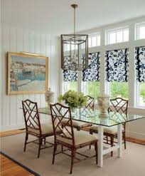 dining room with chinese chippendale rattan chairs gl top table pretty windows