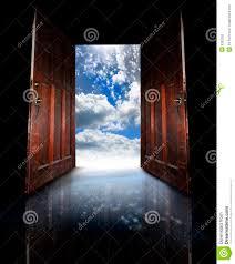 Opened doors stock photography image: 6393262, Old wooden doors ...