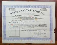 Selling A Share Certificate Sell Share Certificates Bonds Ebay