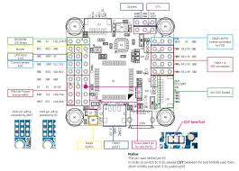 omnibus f4 flight controller guide dronetrest blog Wiring Schematics for Cars omnibus f4 v5 connection1