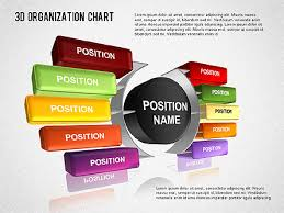 3d Organizational Chart Presentation Template For Google