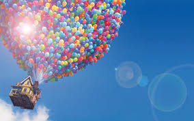 Up House Balloons Up Wallpaper