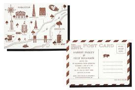 Best Postcard Wedding Invitations