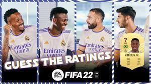 Vini Jr., Carvajal, Asensio & Militão guess FIFA 22 RATINGS!