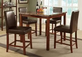 bar top tables custom made live edge walnut bar height table