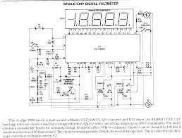 page 1 volt meters electronic circuits digital voltmeter schematic only no circuit