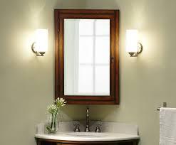 Wood Recessed Medicine Cabinet With Mirror Medicine Cabinet With Shelf  Wooden Bathroom Cabinet With Mirror Home
