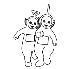 Small Picture Tinky Winky Lala Teletubbies Coloring Pages Free Coloring Pages
