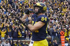 University Of Michigan Depth Chart Depth Chart Prediction For Michigan Footballs Tight Ends In