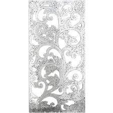 imports mosaic mirrored wall panel