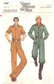Mens Jumpsuit Pattern