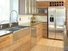 modern kitchen cabinets colors. Delighful Kitchen Contemporary Kitchen With Bamboo Cabinets And Stainless Steel Countertops For Modern Colors O