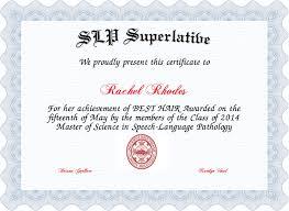 Superlative Certificate Senior Superlative Certificate Ive Ceptiv Superlative Certificates