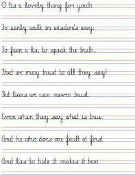 Handwritting Practice Straight Cursive Handwriting To Practice Cursive