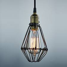 light chandelier wire cage ceiling lamp 1464772547 5706