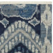 blue ikat rug hand knotted rug swatch ikat ivory blue area rug by safavieh