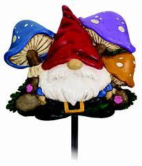 spoontiques 21203 gnome garden stake