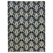 new modern transitional rug navy blue area for ikat rugs safavieh ivory id f