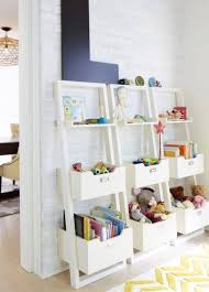 toys storage ideas with modern toy storage and white colors