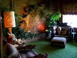 Rainforest Bedroom Elvis Jungle Room Tiki Modern Pinterest Jungles And Jungle Room