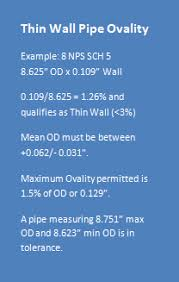 Pipe Wall Thickness Tolerance Chart Pipe Sizes And Tolerances Rolled Alloys Inc
