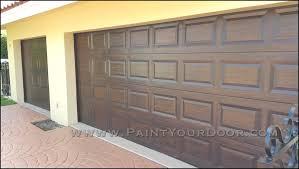 garage door wood lookWood Grain Doors in Pembroke Pines Wood Grain Faux Painted Garage