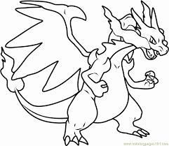 Disegni Pokemon Da Stampare E Colorare Mega Charizard X Pokemon