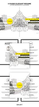 images about cv resume ideas infographic buy black elegant resume booklet by mousecow on graphicriver a simple clean resume template perfect for any creative peoples art director creative
