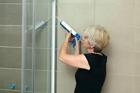 shower stall floor repair