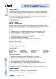 Cook Resume 6 Gallery For Gt Line Sample Techtrontechnologies Com