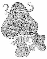 Small Picture 202 best Adult ColouringMushrooms Toadstools Zentangles