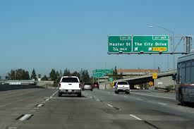 the city drive bristol road the 5 and the 57 freeway all interchange with the garden grove freeway within just over a mile