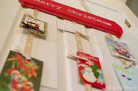 Christmas Card Display Stand DIY Hanging Christmas Card Holder UnOriginal Mom 17