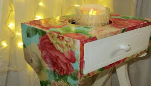 diy decoupage furniture. DIY The Easiest Furniture Makeover W Decoupage Diy G