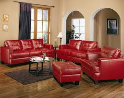 Red Chairs For Living Room Inspirations Red Furniture Living Room Samuel Red Leather Pcs