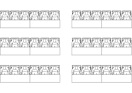 Fashion Show Seating Chart Template Choosing The Best Seating Style For Your Audience