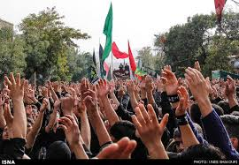 Image result for عزاداری تاسوعا  در زنجان