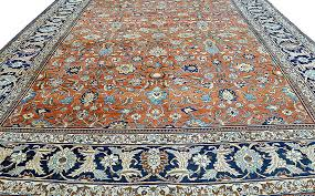 an exquisite investment quality antique fine persian tabriz rug