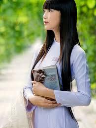 Image result for thiếu nữ áo dài