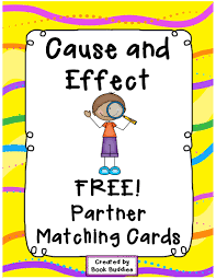 cause and effect matching partner cards thanks from book cause and effect matching partner cards thanks from book buddies these fun cards