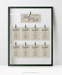 Wedding Seating Chart Cards Template Rustic Wedding Seating Chart Cards Template Wedding Seating